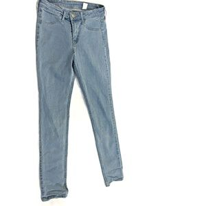 H&M Women's Skinny Ankle Jeans Size 25 Light Wash